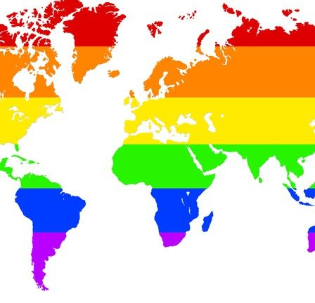Countries where LGBTQ is accepted